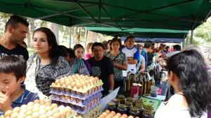 El camión de productos sanjuaninos llega a Capital