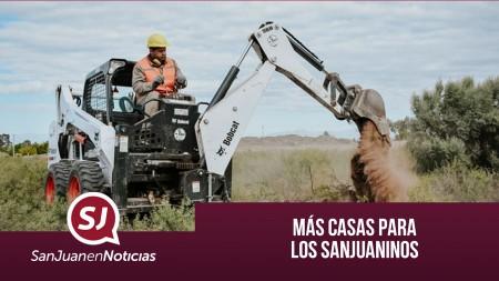 Más casas para los sanjuaninos | #SanJuanEnNoticias