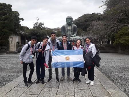 Estudiantes multipremiados de la Escuela Obispo Zapata regresaron de Japón