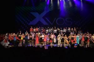La solidaridad unió a más de 120 artistas sanjuaninos que subieron a escena