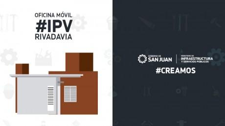 La Oficina Móvil del IPV estará en Rivadavia la próxima semana