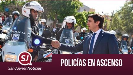 Policías en ascenso | #SanJuanEnNoticias