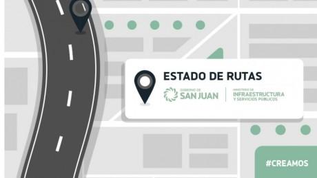Estado de rutas provinciales 18/4 - 8hs.