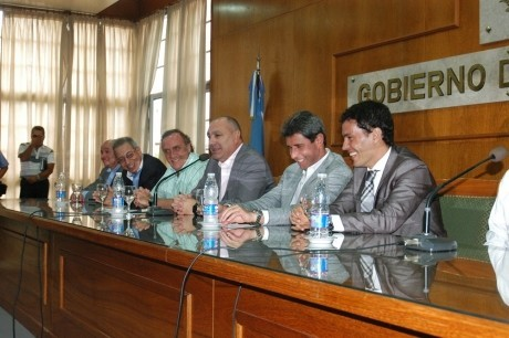 Convenio con entidades deportivas para el desarrollo de infraestructura en clubes de la provincia