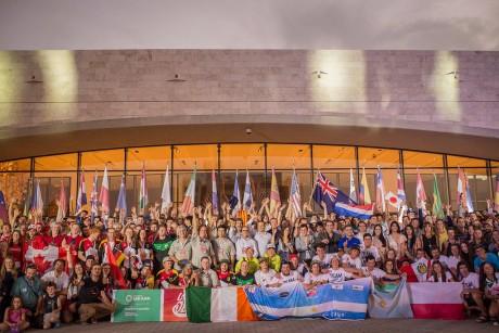 Comenzó oficialmente el campeonato Mundial de Kayak Freestyle con mucho color y algarabía