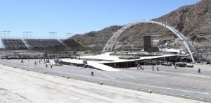 """Preparativos en el Autódromo """"El Zonda"""" para el Espectáculo Final"""