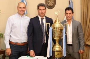 Reunión con el nuevo campeón del TC Mouras