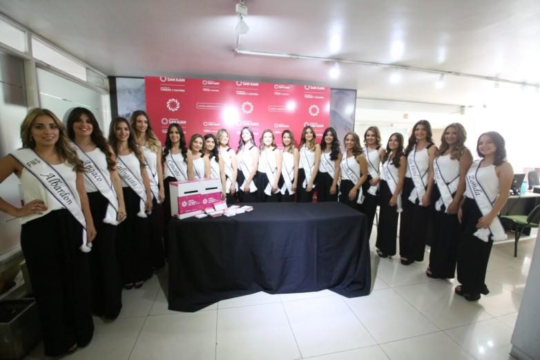 Invitan a los sanjuaninos a ser parte del jurado que elegirá a la Reina Nacional del Sol