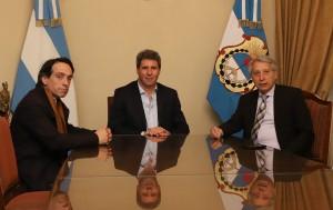 Uñac recibió al presidente de la Asociación Argentina de Derecho Internacional