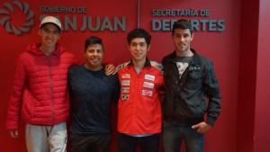 Cinco sanjuaninos correrán en una de las categorías teloneras del Superbike