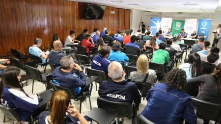 Se realizó una clínica de handball en la provincia