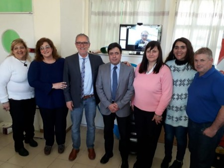 Equipos municipales de Mujer se capacitaron con funcionarios chilenos