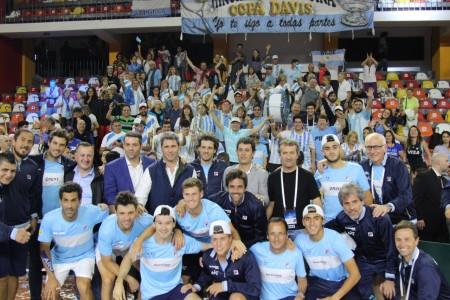 En San Juan, Argentina volvió a ganar una serie de la Davis