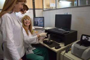 Realizan diagnósticos simultáneos, inmediatos y exactos en el Marcial Quiroga