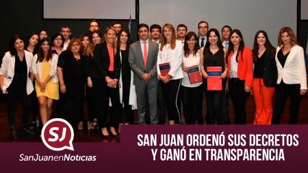 San Juan ordenó sus decretos y ganó en transparencia   #SanJuanEnNoticias
