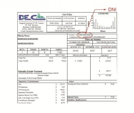 La Distribuidora Eléctrica de Caucete pide a usuarios revisar las facturas para tarifa social