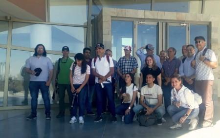 Personal de Infraestructura visitó el Centro Ambiental Anchipurac