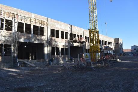 Avanza la obra de ampliación en el hospital Marcial Quiroga