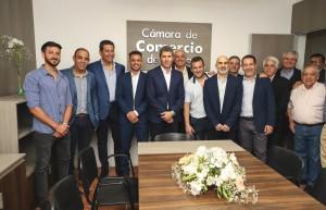 La Cámara de Comercio de Pocito dejó inaugurada su sede social