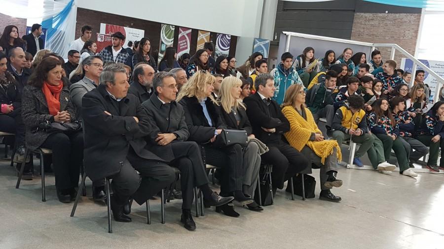 Ciencia, Tecnología e Innovación participó del acto inaugural de la Feria Educativa de Carreras de Grado