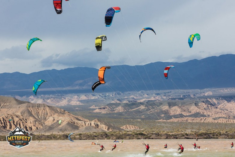 Cuesta del Viento se prepara para el evento de kitesurf más convocante de América Latina