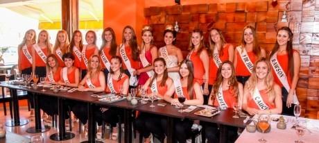Los periodistas sanjuaninos degustaron sushi preparado por las candidatas