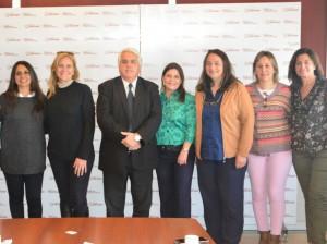 El jurado del Concurso Internacional de AOVE visitó al ministro Díaz Cano