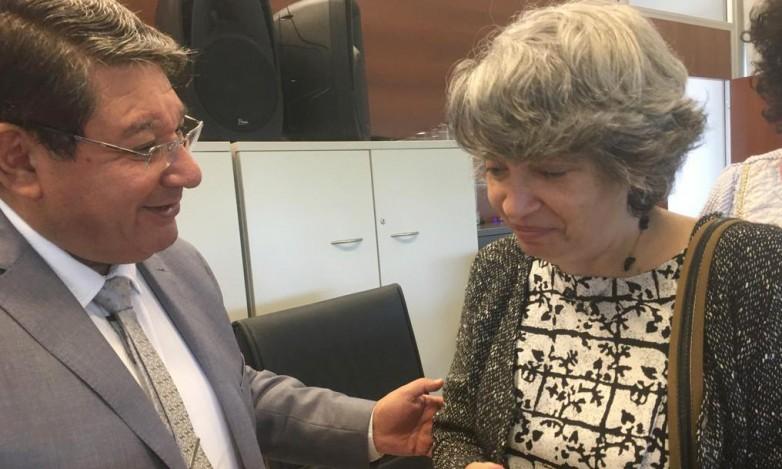 De Los Ríos recibió a la especialista en Educación Infantil Patricia Sarlé