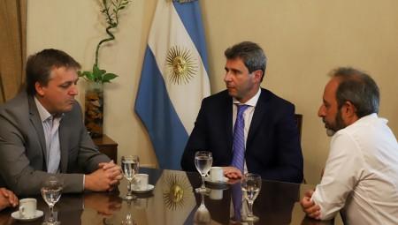Dirigentes del MID nacional visitaron al gobernador