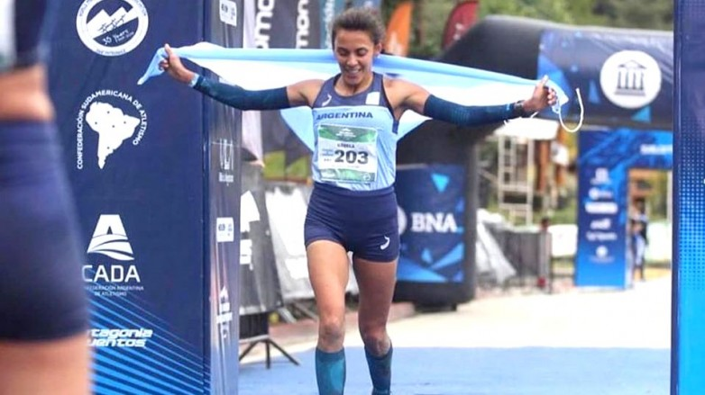 Gisela Tobares disputó su segundo mundial de montaña