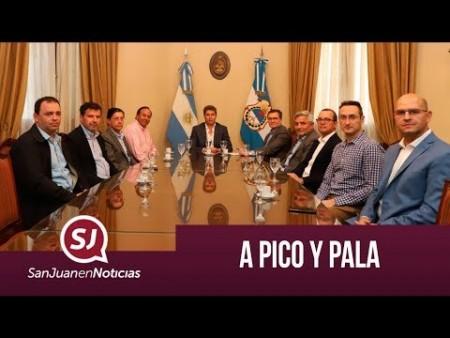 A pico y pala   #SanJuanEnNoticias