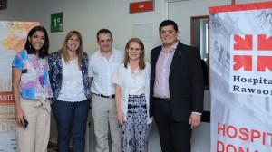 La ministra Venerando lanzó el Programa Provincial de Trasplante Hepático en el Hospital Rawson
