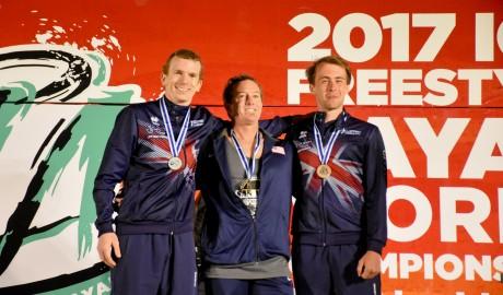O'Hara y Wright son los primeros ganadores del Mundial de Kayak