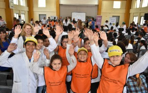 Seguridad Vial: Más de 150 estudiantes de Rivadavia se sumaron a las brigadas escolares