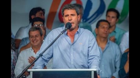 Declaraciones del gobernador Uñac tras las elecciones generales
