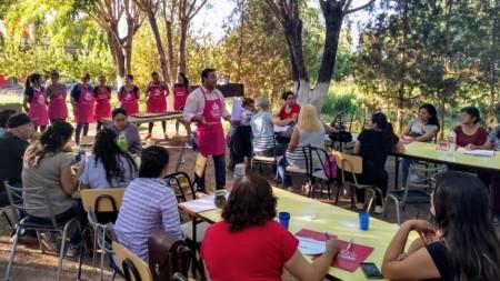 Más de 60 productores de Calingasta se capacitaron en gastronomía
