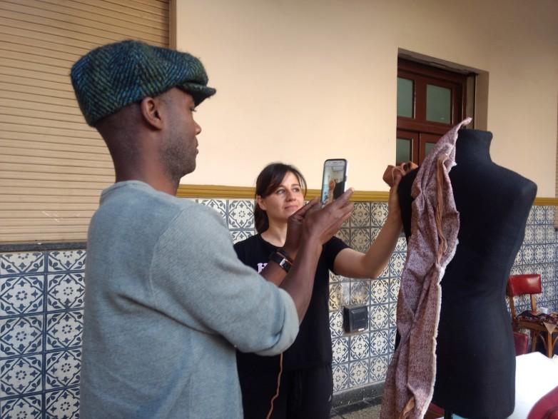 Diseñan en San Juan las creaciones textiles que representarán a Argentina en una expo internacional