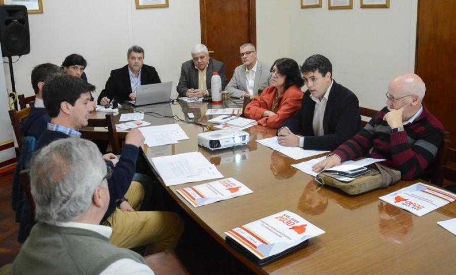 El sector empresario reunido con el CCAI