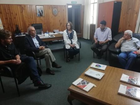 Autoridades del CIECTI se interiorizaron del trabajo del CoPESJ