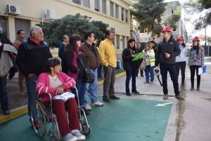 El Hospital Marcial Quiroga se capacitó ante una eventual emergencia