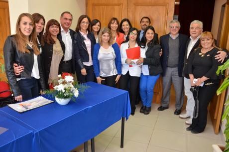 Albardón recibió las VIII Jornadas sobre Trastornos Generalizados del Desarrollo