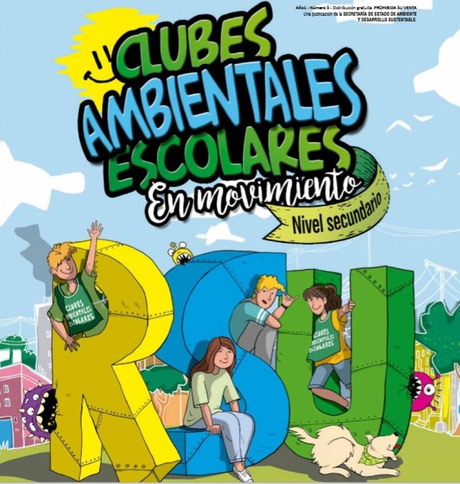 Ambiente lanzó la revista Clubes Escolares Ambientales para Nivel Secundario