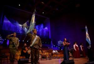 Voces y guitarras le cantaron a la Patria para celebrar 203 años de Independencia