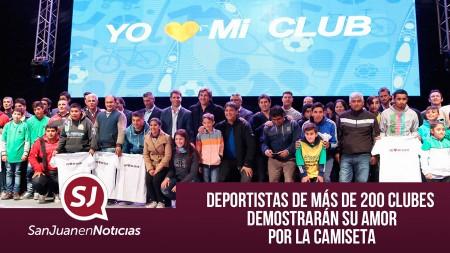 Deportistas de más de 200 clubes demostrarán su amor por la camiseta | #SanJuanEnNoticias