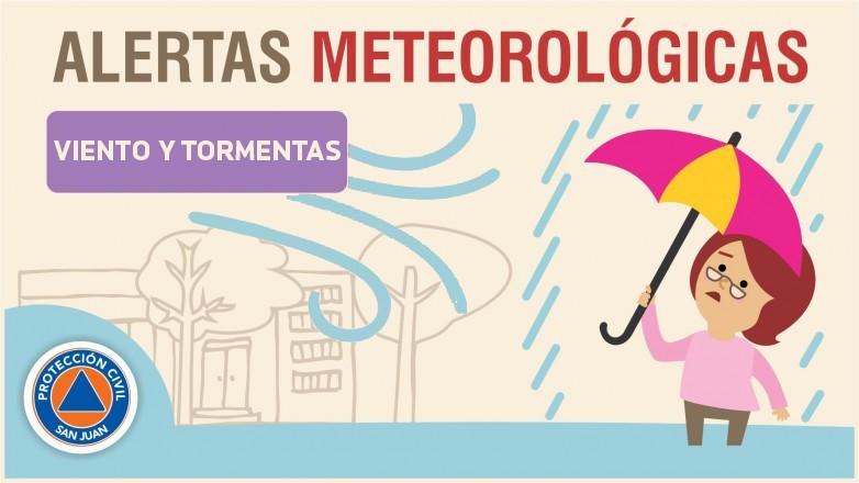 Alerta meteorológica N° 56/19 - Probabilidad de tormentas