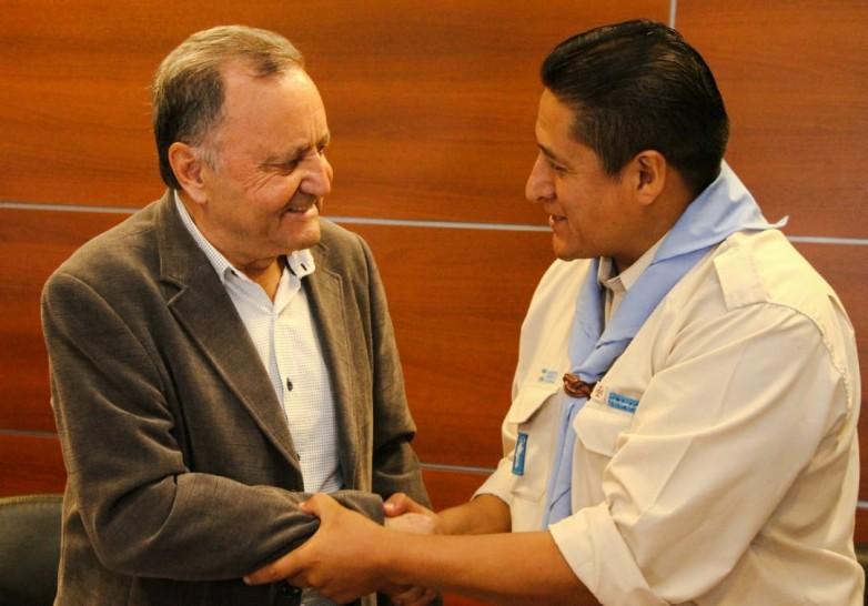 El ministro Sánchez firmó un convenio de colaboración con Scouts de Argentina