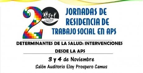 2º Jornadas de Residencia de Trabajo Social en APS