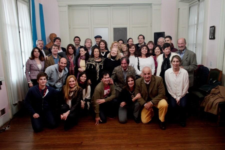 Homenaje a Laprida en la Casa de San Juan en Buenos Aires