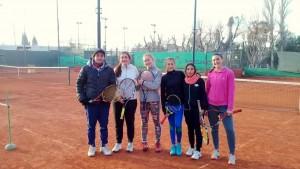El tenis femenino busca elevar el nivel para los Juegos de San Juan