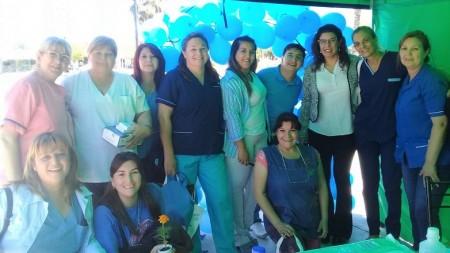 El CARF y el Hospital Ventura Lloveras realizaron actividades de concientización de la diabetes